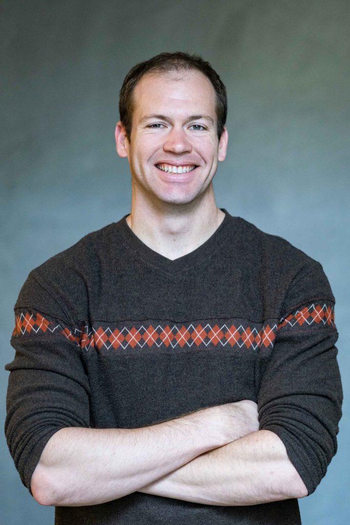 Assistant professor of biochemistry Robert Kirchdoerfer